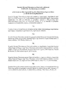 11.2016.(IX.16.)egészségügyi.rendelet